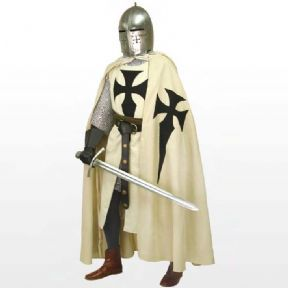 Teutonic Knights Hooded Cape